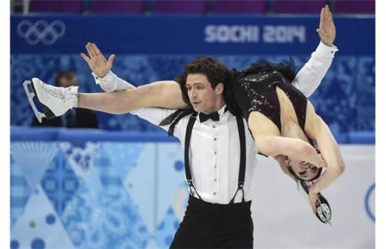 Canada's Tessa Virtue and Scott Moir   THE CANADIAN PRESS/Paul Chiasson