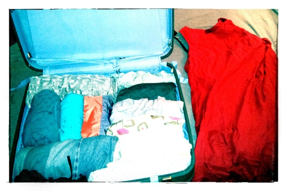 suitcase full of memories