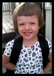 Excited for Senior Kindergarten.
