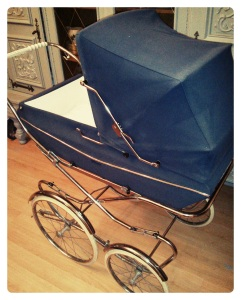 my pram that sometimes houses a small baby