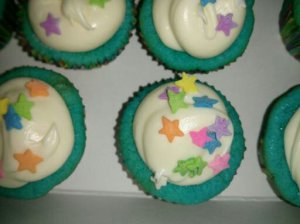 cupcakes I made for Raine's 7th birthday